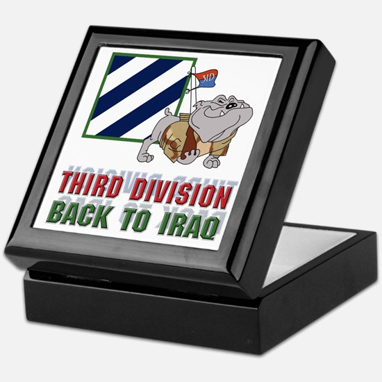 3ID Back To Iraq - Keepsake Box