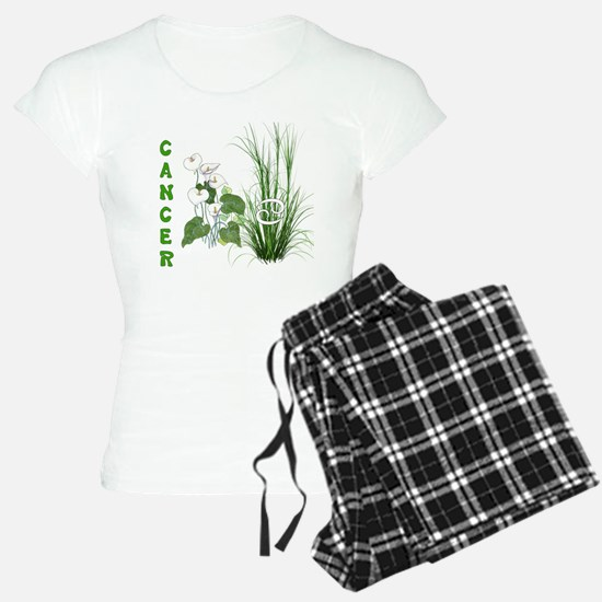 Bamboo and Lily Cancer 2 Pajamas