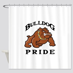 BULLDOG PRIDE Shower Curtain