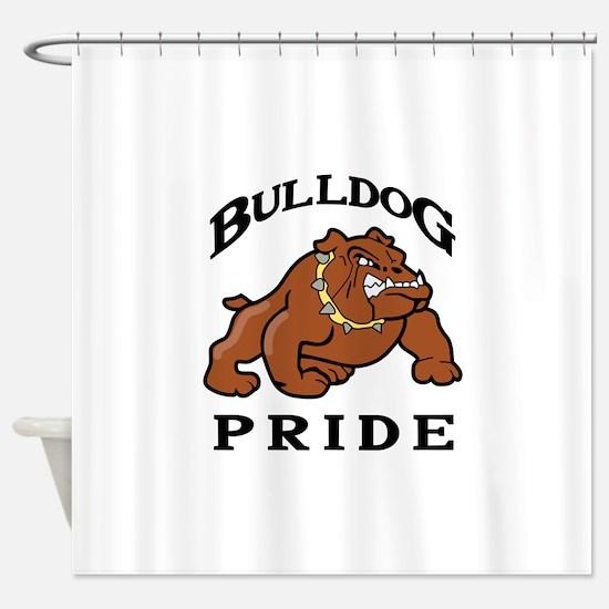 BULLDOG PRIDE Shower Curtain