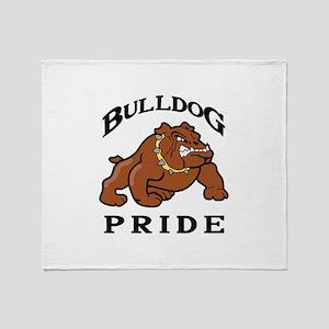 BULLDOG PRIDE Throw Blanket