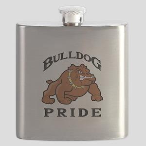 BULLDOG PRIDE Flask