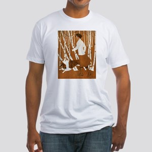 THROUGH THE WOODS Fitted T-Shirt