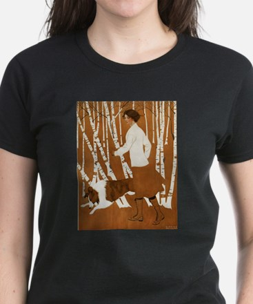 THROUGH THE WOODS Women's Dark T-Shirt