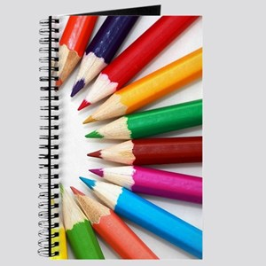 rainbow art pencils pastels Journal