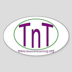 TnT Circle Oval Sticker