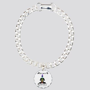 Reiki Energy All Charm Bracelet, One Charm