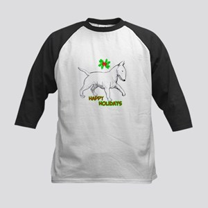 bull terrier Kids Baseball Jersey