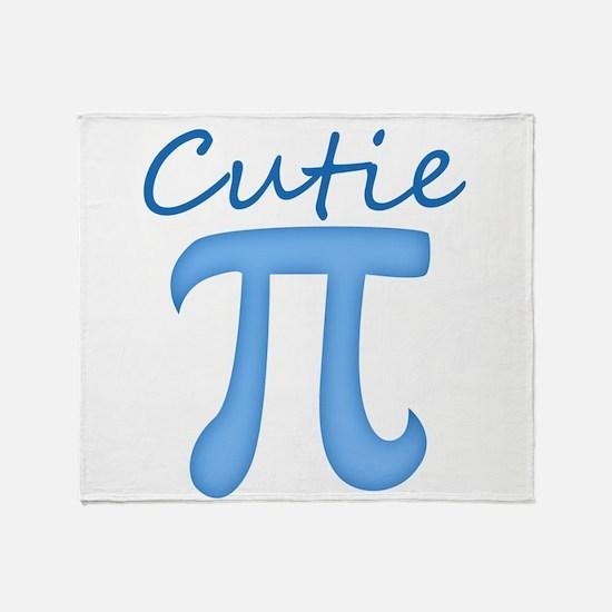 Cutie Pi Throw Blanket