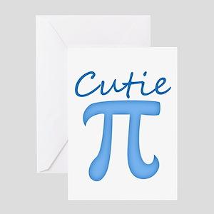 Cutie Pi Greeting Cards