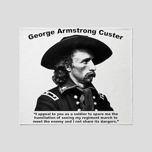 Custer: Humiliation Throw Blanket