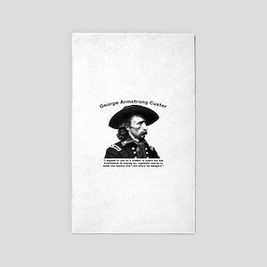 Custer: Humiliation Area Rug
