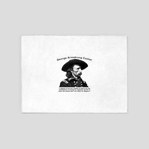 Custer: Humiliation 5'x7'Area Rug