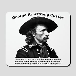 Custer: Humiliation Mousepad