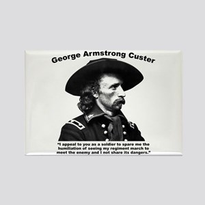 Custer: Humiliation Rectangle Magnet