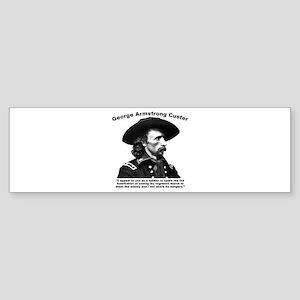 Custer: Humiliation Sticker (Bumper)