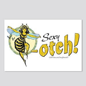 Sexy Beeotch Postcards (Package of 8)