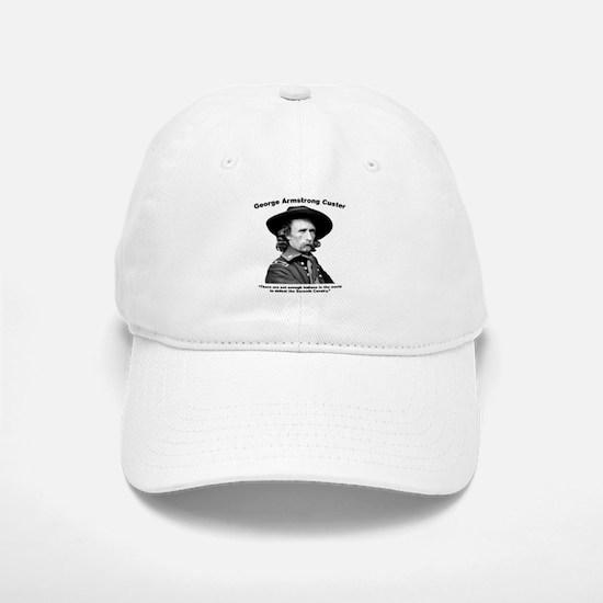 Custer: Defeat Baseball Baseball Cap