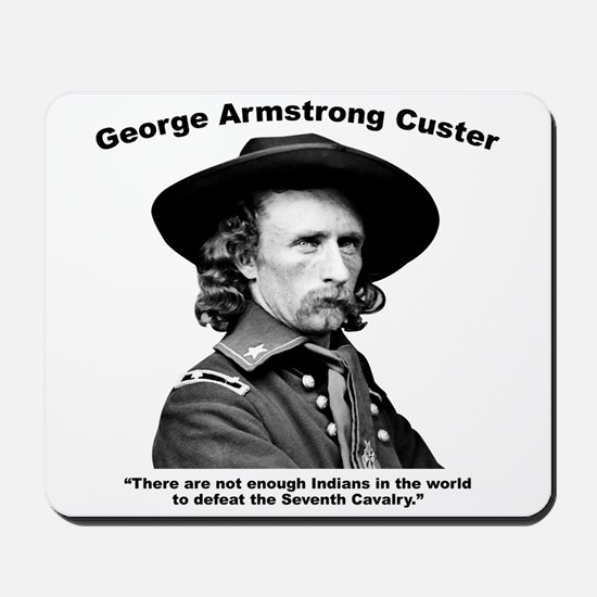 Custer: Defeat Mousepad