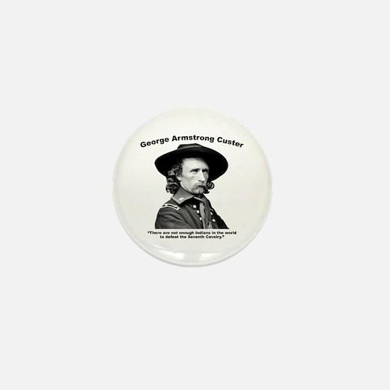 Custer: Defeat Mini Button