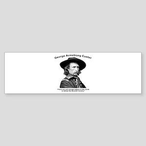 Custer: Defeat Sticker (Bumper)
