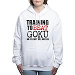TRAINING TO BEAT Women's Hooded Sweatshirt