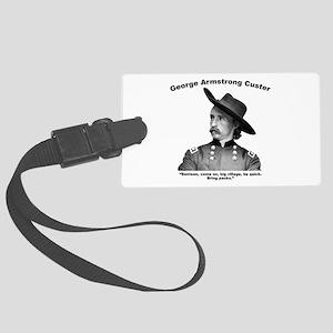 Custer: Benteen Large Luggage Tag