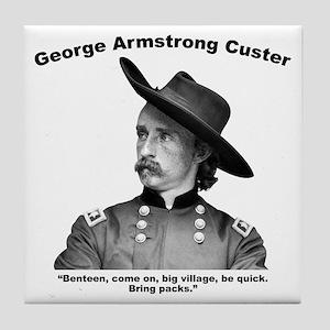 Custer: Benteen Tile Coaster