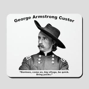 Custer: Benteen Mousepad