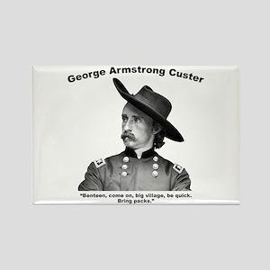 Custer: Benteen Rectangle Magnet