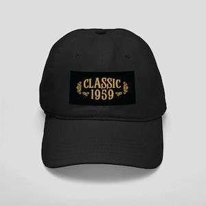Classic 1959 Black Cap