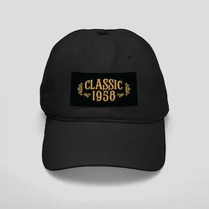 Classic 1958 Black Cap