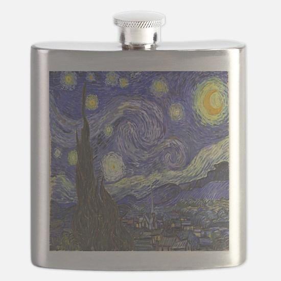 Van Gogh Starry Night Flask