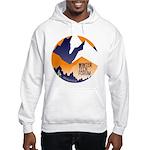 wtf circle Hooded Sweatshirt