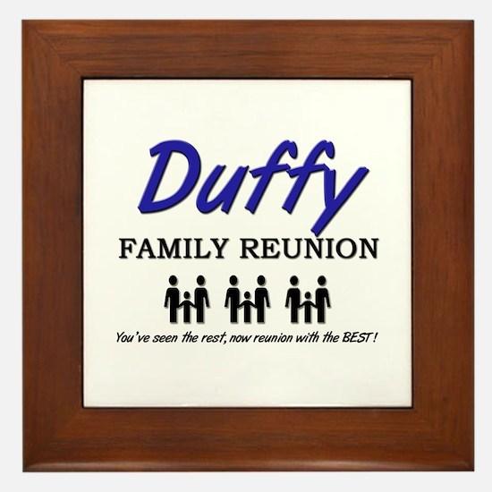 Duffy Family Reunion Framed Tile