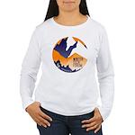 WTF Mountains Women's Long Sleeve T-Shirt