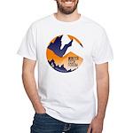 WTF Mountains White T-Shirt