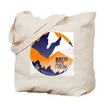 WTF Mountains Tote Bag