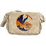 WTF Mountains Messenger Bag