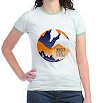 WTF Mountains Jr. Ringer T-Shirt