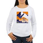 WTF Mountain Women's Long Sleeve T-Shirt