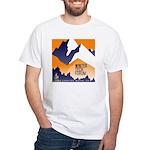 WTF Mountain White T-Shirt