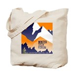 WTF Mountain Tote Bag