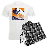 WTF Mountain Men's Light Pajamas