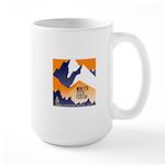 WTF Mountain Large Mug