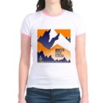 WTF Mountain Jr. Ringer T-Shirt