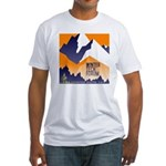 WTF Mountain Fitted T-Shirt