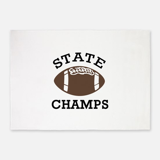 STATE CHAMPS 5'x7'Area Rug