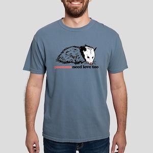 Possums Need Love Too Mens Comfort Colors Shirt