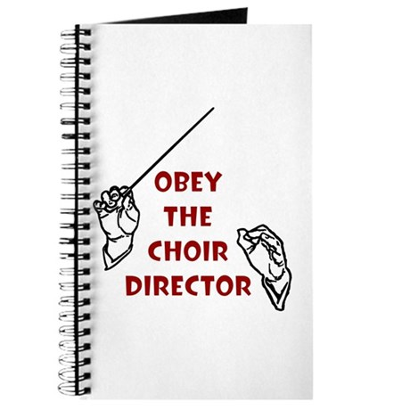 Obey the Choir Director Journal